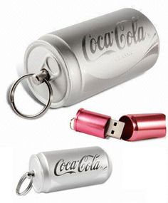 Unified Manufacturing offers custom USB flash drive duplication for Cola Can USB flash drives. Print or engrave your logo to make an impressive customized USB giveaway or promotional item. Computer Gadgets, Usb Gadgets, Gadgets And Gizmos, Usb Drive, Usb Flash Drive, Nerd Jewelry, Coca Cola Can, Hub Usb, Future Gadgets