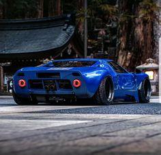 "topvehicles: ""Khyzyl's Ford GT "" Maserati, Bugatti, Lamborghini, Ferrari, Exotic Sports Cars, Cool Sports Cars, Ford Gt40, Custom Muscle Cars, Custom Cars"