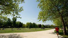 Le parc André Malraux à Nanterre