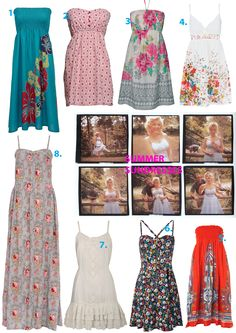 Love sundresses in summer!
