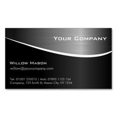 217 best design consultant business cards images on pinterest groupon black stainless steel business card colourmoves