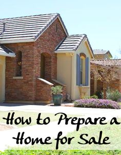 If you are about to put your house up for sale, there are certain things you should do in order to get the most amount of money for your home.
