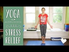 Free #YogaVideo for Stress Relief with Adriene. Enjoy your day!