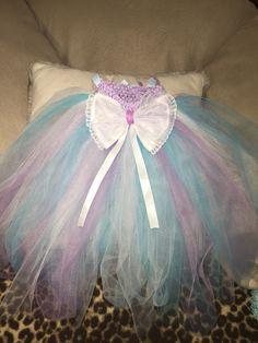 Sugar Plum Fairy inspired Little girl Tutu  www.coconutcouturediva.etsy.com