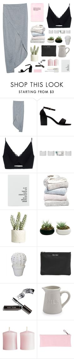 """""""Love Birds"""" by xxpai ❤ liked on Polyvore featuring Finders Keepers, Versace, Maison Margiela, Pem America, Allstate Floral, Rebecca Minkoff, Bobbi Brown Cosmetics, Sur La Table, H&M and Giorgio Fedon 1919"""