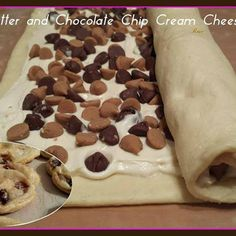 Peanut Butter & Chocolate Chip Cream Cheese Cookies