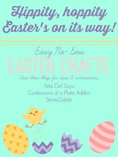 Pottery Barn Inspired No-Sew Easter Bunny Banner