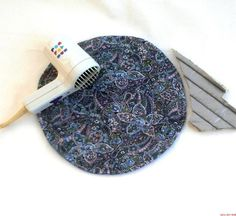 Teen Girls Bedroom Decor Hot Pads Flat Iron Mats by BeesHotPads, $10.00....for jade's room