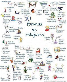50 formas de relajarse