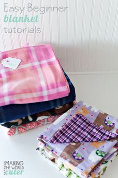 Alright! Today I'm showing you two AMAZING blanket tutorials for Luke's loves (click the button to take you to all the info!)making the world cuter shows us how to make super easy beginner blankets! One is a basic sewing one…and one is no sew! Perfect for kids! (I totally bought the camping fabric she uses!) […]