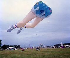 Martin Lester's Mega Legs kite.