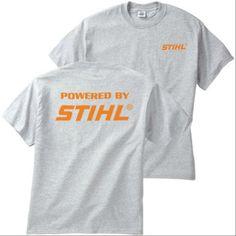 STIHL Men's T Shirt (Large, Gray) Stihl http://www.amazon.com/dp/B00PEYLKEC/ref=cm_sw_r_pi_dp_mqWCwb18ZQ5KC