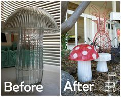 Great way to recycle glass pieces