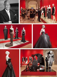 "André Leon Talley's ""Little Black Dress"" Exhibit at SCAD"
