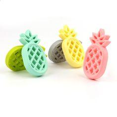 TYRY.HU Pineappl Silikoni-Teether BPA-vapaa silikoni-riipus DIY-houkuttelevalle nauhalle