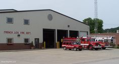 French Lick Fire Department, Indiana, USA, Provides Fire, Rescue Protection To Nearly 25 Square Miles Including The Towns Of French Lick and West Baden. Source; indianafiretrucks.com