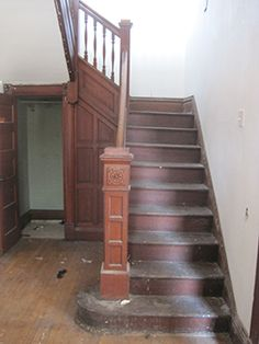 replacing staircase in historic home - Google Search