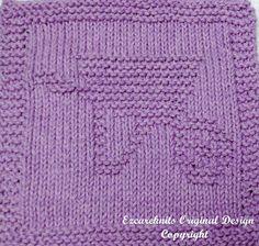 Knitting Cloth Pattern  WHEELBARROW  PDF  Instant by ezcareknits, $2.85