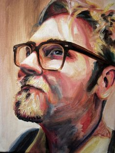 Custom Oil Painting Portrait by Krystal Booth