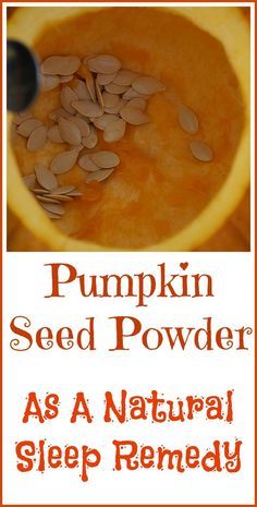 Why pumpkin seed powder is considered a good natural sleep remedy.