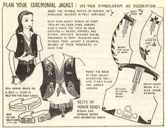 campfire girls in the 60's | Camp Fire Girls vest instructions