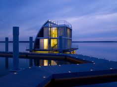 Floathome, floating house in germany by Steeltec37