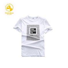 f34840b52df Field Base Brand Print Cotton T Shirt Fitness T shirt Men s Clothing O Neck  Man Tee Short Tshirt 6XL 72T25A Super Quality-in T-Shirts from Men s  Clothing ...