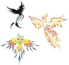 Fugl Fønix, ide til tatovering