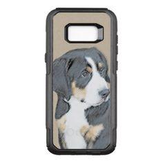 #Bernese Mountain Dog Puppy OtterBox Commuter Samsung Galaxy S8 Case - #bernese #mountain #dog #puppy #dog #dogs #pet #pets #cute #bernesemountaindog