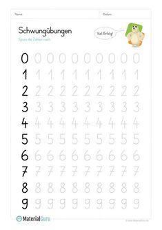 Vorschule NEW: A free worksheet for the pre-school, where the children can swing… Preschool Writing, Free Preschool, Kindergarten Worksheets, Learning Centers, Kids Learning, Pre School, Middle School, Kindergarten Portfolio, Kids Swing