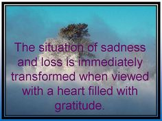 The situation of sadness and loss is immediately transformed by Positive Lifestyle, via Flickr