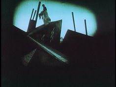 "Caligari"", directed by Robert Wiene, 1920 German Expressionism Film, Dr Caligari, Fritz Lang, Eternal Sunshine, Prop Design, Silent Film, Potpourri, Art Inspo, Cinema"
