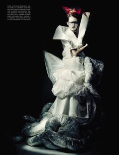 HAUTE COUTURE by Paolo Roversi Vogue Italia Haute Couture September 2015 IDsetters 12
