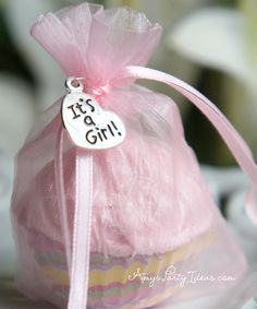 Pink & Grey Elephant Baby Shower Party Favors