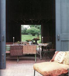 John Robshaw antique textile collection.