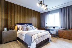 Triplex arquitetura - quarto + madeira