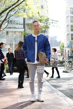 Japanese street style Photo by Drop Tokyo.