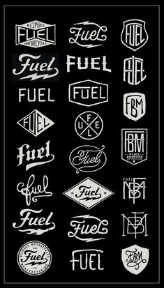 fuel logo #vintage #retro #logodesign #logo #Design #graphicdesign #emblem #stamp