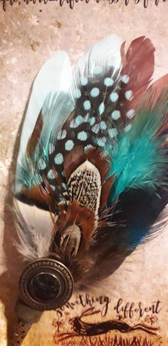 Handmade Christmas present for him her turquoise Feather hatpin .. gift for man father pin for fedora trilby hamborg Christmas Presents For Him, Handmade Christmas Presents, Bible Verse Art, Feather Hat, Xmas Wreaths, Brooches Handmade, Hat Pins, Barbour, Clever
