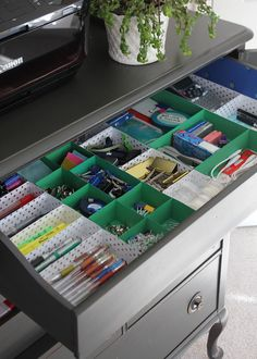 DIY Drawer Dividers (using what you've got
