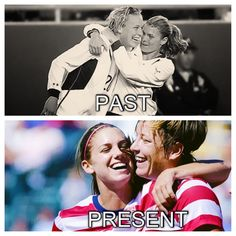 Past and present greats