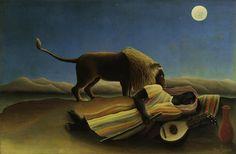 The Sleeping Gypsy - Henri Rousseau