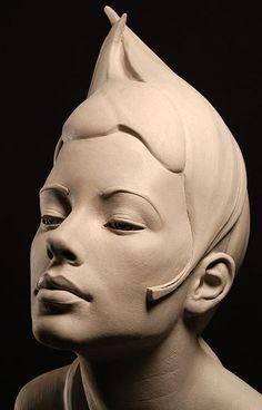 Philippe Faraut www.sculpturalpursuit.com Lovely. Looks a bit like Madame President in Fantastic Beasts.
