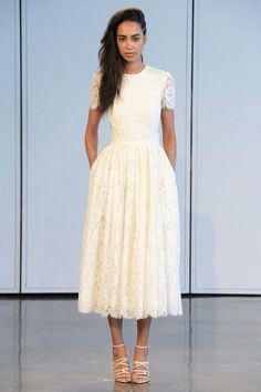 Short Wedding Dresses With Classic Style - Houghton