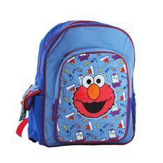 Un adorable sac à dos Elmo de la série 1 Rue Sésame - Un sac d'enfant de qualité et de grand taille pour l'école primaire, au design vraiment original  http://www.lamaisontendance.fr/catalogue/sac-a-dos-elmo-rue-sesame/  #sac #bagage #elmo #école #ruesésame #sesamestreet
