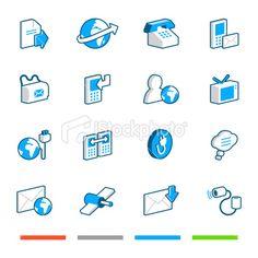 Media and Communication Iconshttp://www.istockphoto.com/search/lightbox/7061733#bb3e14