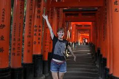 Read about my latest adventure in Japan. Follow me to the most beautiful shrine ever: Fushimi Inari. Let's walk up to the rooftops of Kyoto!