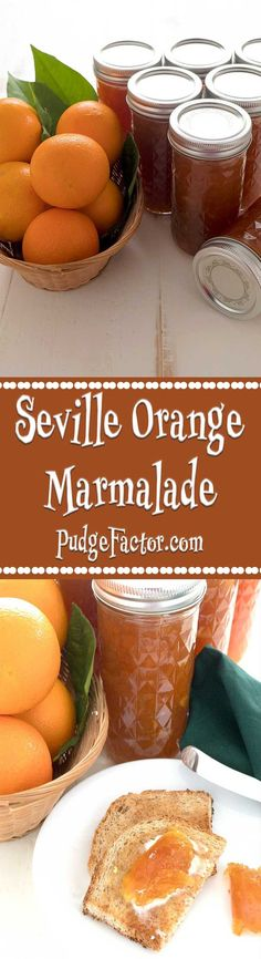 Seville Orange Marmalade is prized in Great Britain. It is the perfect marriage of the intensely bitter Seville oranges and sugar.  via @c2king: