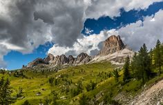 Passo di Giau Dolomites Italy by EuropeTrotter. Please Like http://fb.me/go4photos and Follow @go4fotos Thank You. :-)