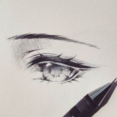 Anime eye art motivation drawings, anime eyes y anime sketch Anime Drawings Sketches, Anime Sketch, Manga Drawing, Manga Art, Art Drawings, Anime Art, Manga Anime, Drawing Faces, Hipster Drawings